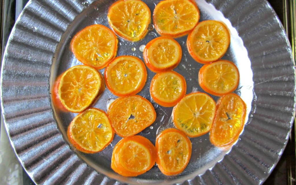 Darling Clementine Skillet Cake