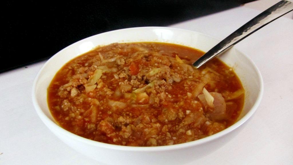 Paleo Holubtsi (Cabbage Roll) Soup