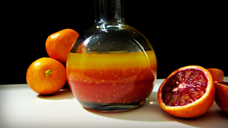 Blood Orange Champagne Vinaigrette