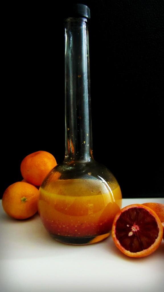 Blood Orange Champagne Vinaigrette
